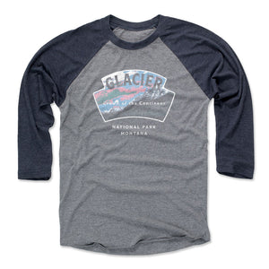 Glacier National Park Men's Baseball T-Shirt | 500 LEVEL