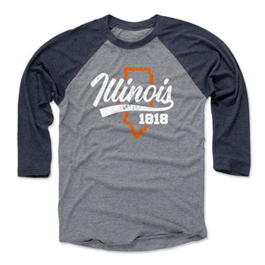 Illinois Men's Baseball T-Shirt | 500 LEVEL