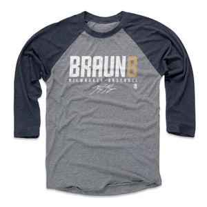 Ryan Braun Men's Baseball T-Shirt | 500 LEVEL
