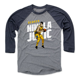 Nikola Jokic Men's Baseball T-Shirt | 500 LEVEL