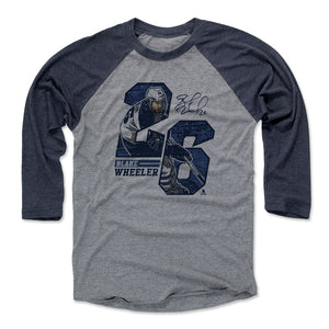 Blake Wheeler Men's Baseball T-Shirt | 500 LEVEL