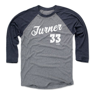 Myles Turner Men's Baseball T-Shirt | 500 LEVEL
