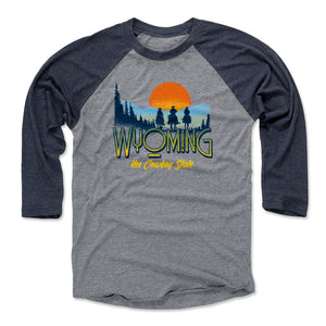 Wyoming Men's Baseball T-Shirt | 500 LEVEL
