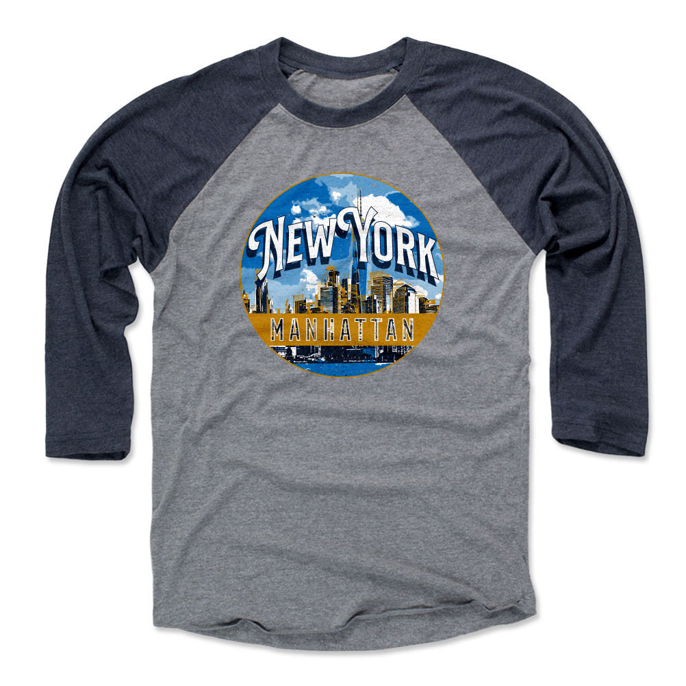 Manhattan Men's Baseball T-Shirt | 500 LEVEL
