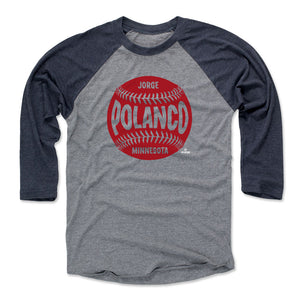 Jorge Polanco Men's Baseball T-Shirt | 500 LEVEL