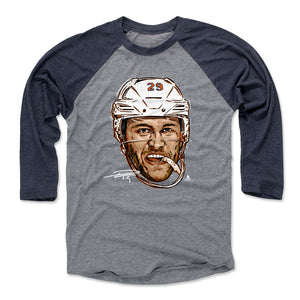 Leon Draisaitl Men's Baseball T-Shirt | 500 LEVEL