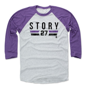 Trevor Story Men's Baseball T-Shirt | 500 LEVEL