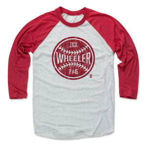 Zack Wheeler Men's Baseball T-Shirt | 500 LEVEL