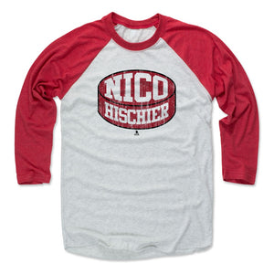 Nico Hischier Men's Baseball T-Shirt | 500 LEVEL