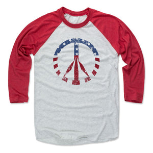 Peace Sign Men's Baseball T-Shirt | 500 LEVEL
