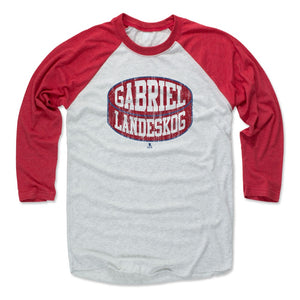 Gabriel Landeskog Men's Baseball T-Shirt | 500 LEVEL