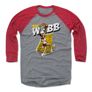Spud Webb Men's Baseball T-Shirt | 500 LEVEL