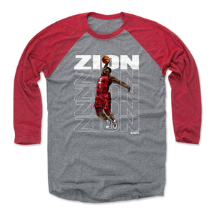 Zion Williamson Men's Baseball T-Shirt | 500 LEVEL