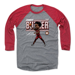 Jimmy Butler Men's Baseball T-Shirt | 500 LEVEL