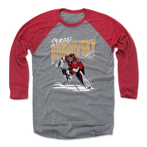 Sergei Bobrovsky Men's Baseball T-Shirt | 500 LEVEL