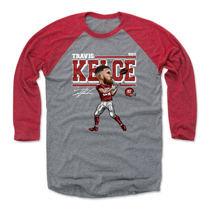 Travis Kelce Men's Baseball T-Shirt | 500 LEVEL