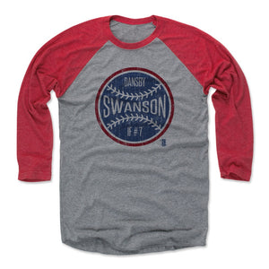 Dansby Swanson Men's Baseball T-Shirt | 500 LEVEL