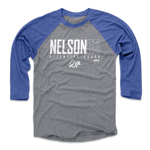 Quenton Nelson Men's Baseball T-Shirt | 500 LEVEL