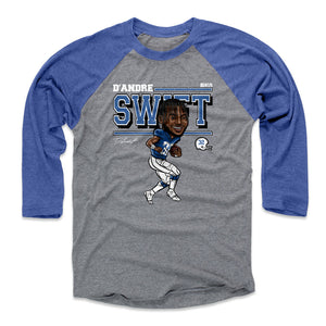 D'Andre Swift Men's Baseball T-Shirt | 500 LEVEL