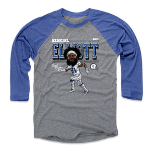 Ezekiel Elliott Men's Baseball T-Shirt | 500 LEVEL