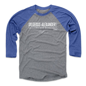 Shai Gilgeous-Alexander Men's Baseball T-Shirt | 500 LEVEL