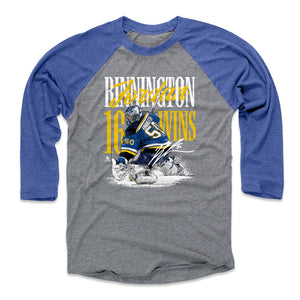 Jordan Binnington Men's Baseball T-Shirt | 500 LEVEL