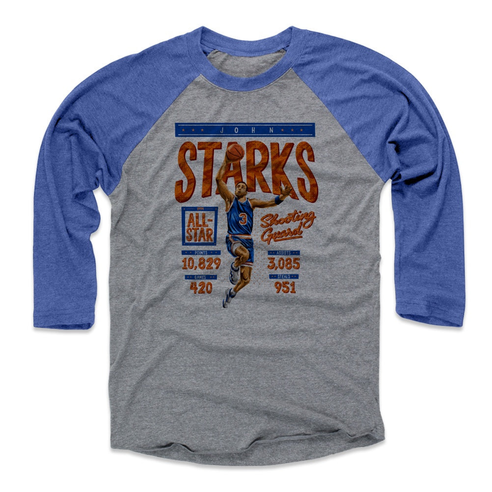 John Starks Men's Baseball T-Shirt | 500 LEVEL