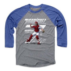 Ivan Rodriguez Men's Baseball T-Shirt | 500 LEVEL