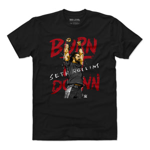 Seth Rollins Men's Cotton T-Shirt | 500 LEVEL