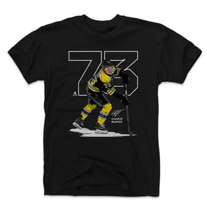 Charlie McAvoy Men's Cotton T-Shirt | 500 LEVEL
