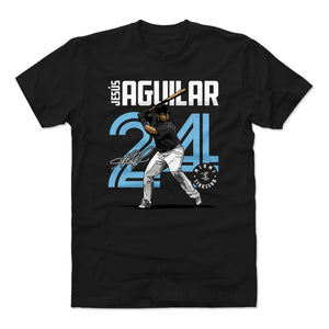 Jesus Aguilar Men's Cotton T-Shirt | 500 LEVEL
