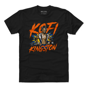 Kofi Kingston Men's Cotton T-Shirt | 500 LEVEL