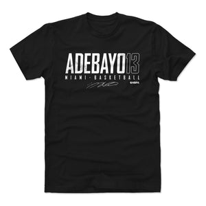 Bam Adebayo Men's Cotton T-Shirt | 500 LEVEL