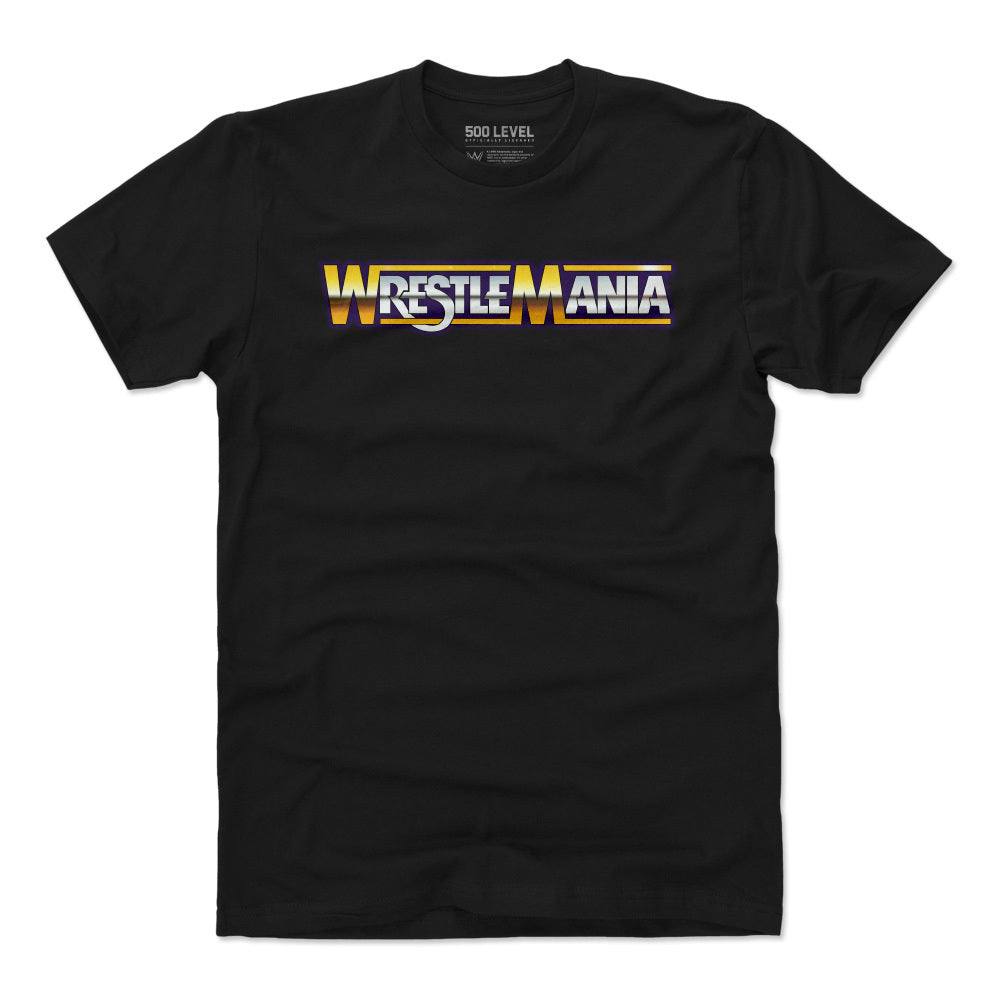 Wrestlemania Men's Cotton T-Shirt | 500 LEVEL