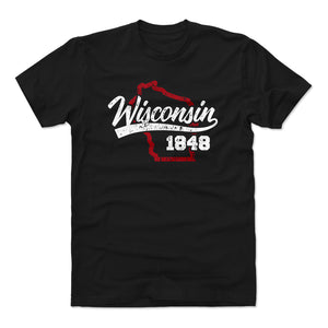 Wisconsin Men's Cotton T-Shirt | 500 LEVEL