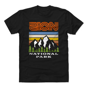 Zion National Park Men's Cotton T-Shirt | 500 LEVEL