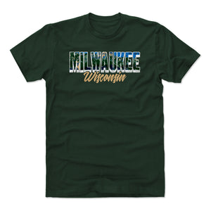 Milwaukee Men's Cotton T-Shirt | 500 LEVEL