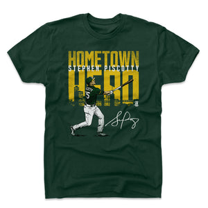 Stephen Piscotty Men's Cotton T-Shirt | 500 LEVEL