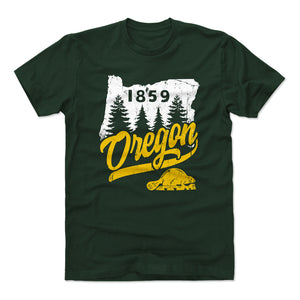 Oregon Men's Cotton T-Shirt | 500 LEVEL