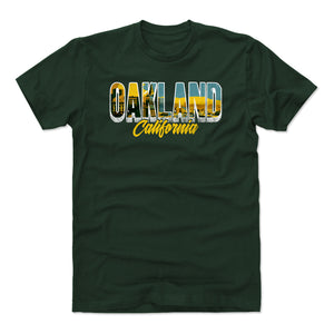 Oakland Men's Cotton T-Shirt | 500 LEVEL