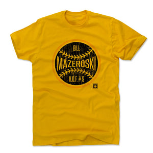 Bill Mazeroski Men's Cotton T-Shirt | 500 LEVEL