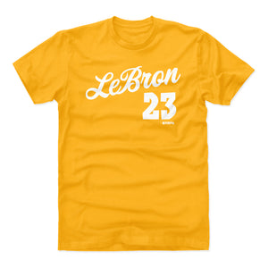 LeBron James Men's Cotton T-Shirt | 500 LEVEL