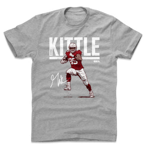 George Kittle Men's Cotton T-Shirt | 500 LEVEL