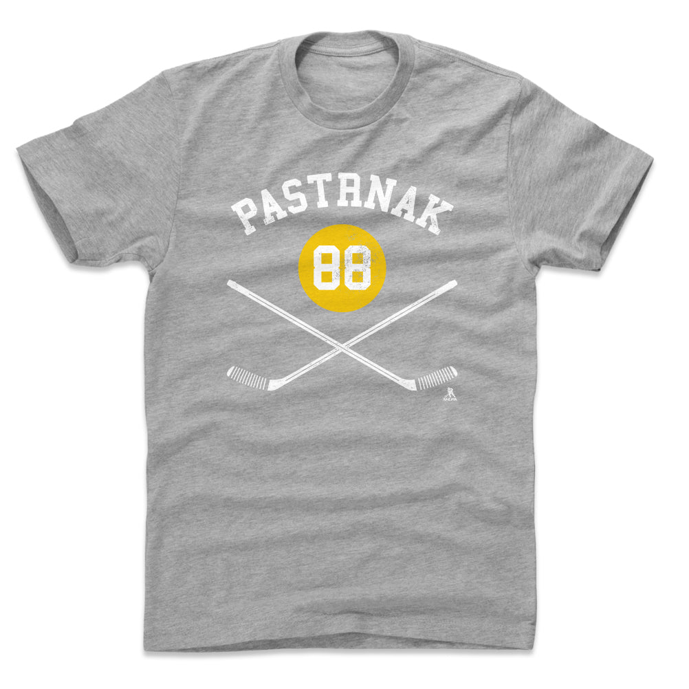David Pastrnak Men's Cotton T-Shirt | 500 LEVEL