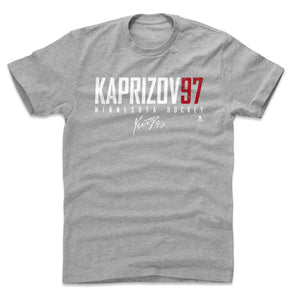 Kirill Kaprizov Men's Cotton T-Shirt | 500 LEVEL