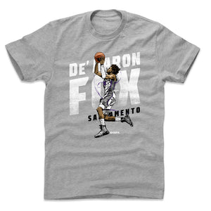 De'Aaron Fox Men's Cotton T-Shirt | 500 LEVEL