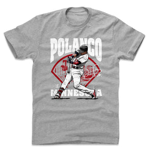 Jorge Polanco Men's Cotton T-Shirt | 500 LEVEL