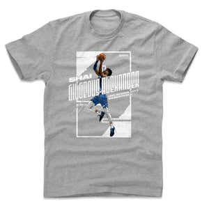 Shai Gilgeous-Alexander Men's Cotton T-Shirt | 500 LEVEL
