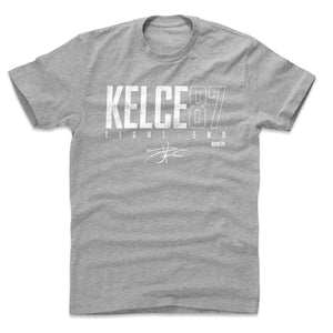 Travis Kelce Men's Cotton T-Shirt | 500 LEVEL