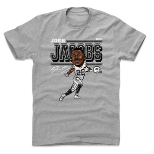 Josh Jacobs Men's Cotton T-Shirt | 500 LEVEL